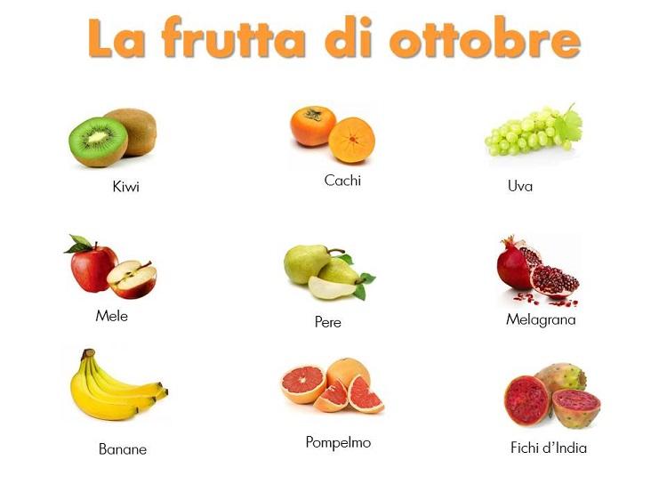 Frutta di ottobre cristalfarma for Frutta con la o iniziale