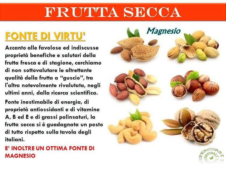 """Exceptionnel La frutta secca è davvero """"fonte di virtù"""" - Cristalfarma SQ45"""
